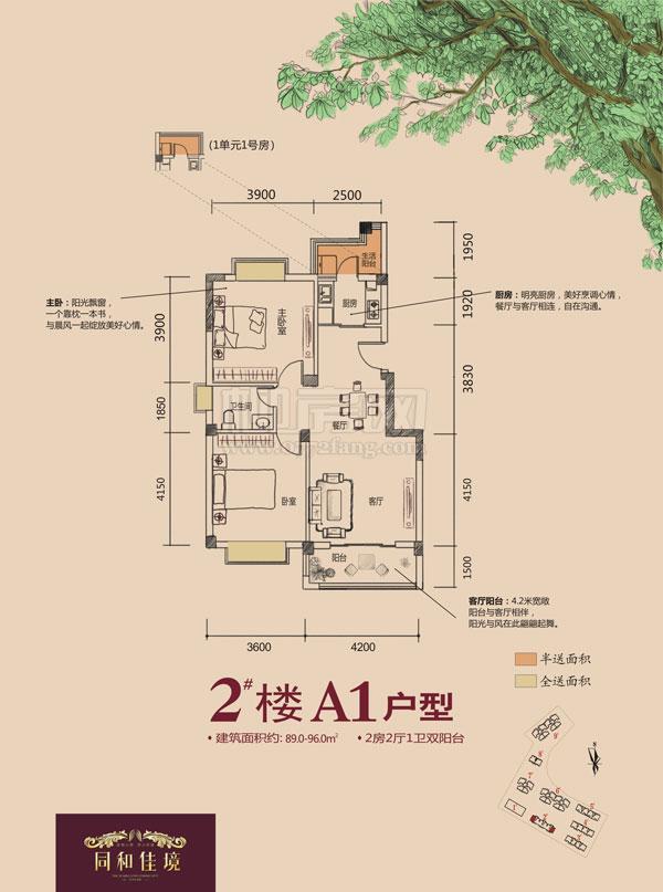 2#楼A1户型