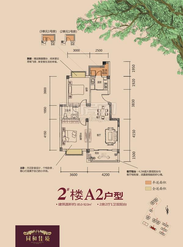 2#楼A2户型