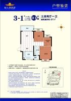3-1#01户型91