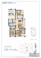 紫荆苑4#楼C10户型