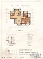 1#楼H户型