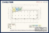 28#楼商业平面图