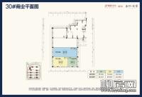 30#楼商业平面图