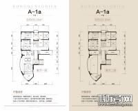 6#楼18#楼A-1a户型