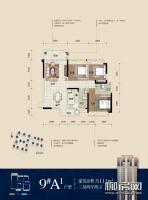 9#楼A1户型