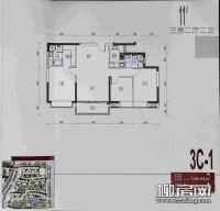 11#楼3C-1户型