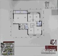 10、11#楼4C-1户型