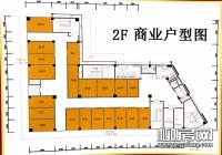 2层商铺平面图