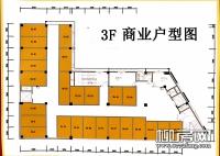 3层商铺平面图