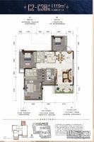 12、13#楼C2-C3B户型