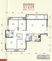 10-14#楼4B-1户型