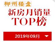 9月柳州楼市销量TOP榜