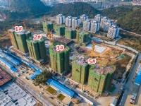 「大唐观邸」12月工进:1#楼已封顶 2#、5#楼建至14层