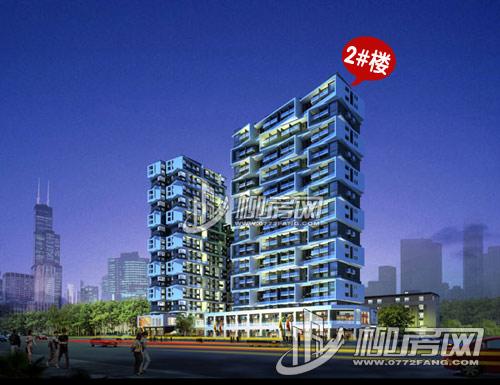 2#楼立面效果图-沃德 梦想 再次推出30套特惠房 均价6100元 平米