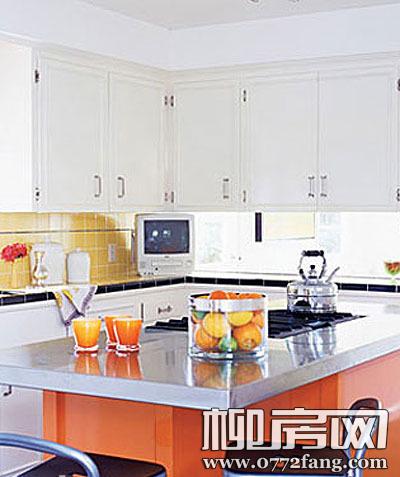 户型定制橱柜 小厨房完美收纳方案