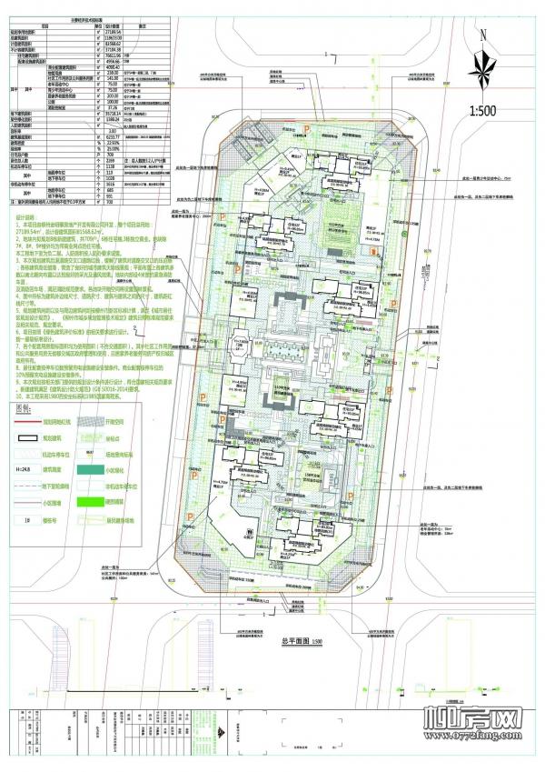 金科·星辰项目用地约41亩 拟建6栋住宅3栋独