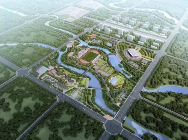 柳江区体育公园效果图