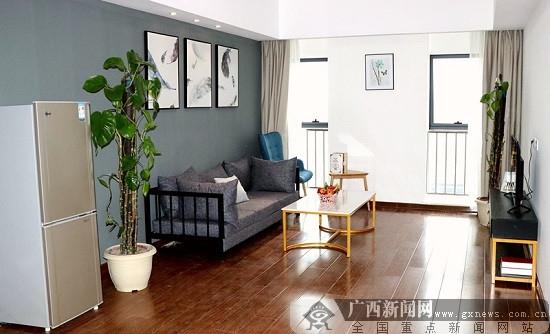 柳东新区人才公寓正式启用 首批58名人才拎包入住
