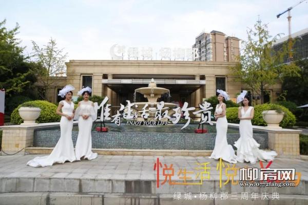 美好不止丨绿城·杨柳郡三周年庆典圆满落幕