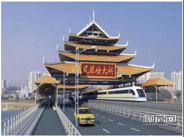 """""""风雨桥""""设计!柳州这座特色大桥预计2021年8月建成"""