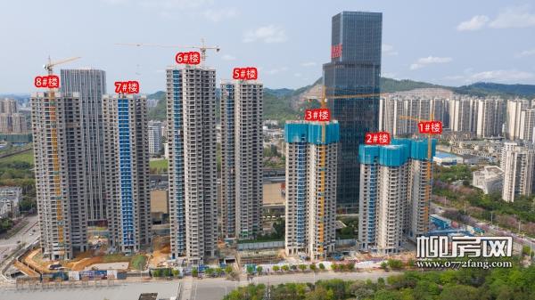 「柳州华润幸福里」3月工进:3#楼建至32层 95折进行中