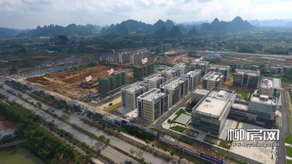 「启迪(柳州)科技城」5月工进:1#、3#楼建至8层