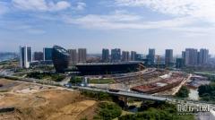 柳州会展中心二三期工程快速推进中