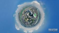 上帝视角!303米高空俯瞰龙城大地