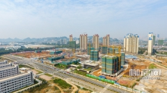 柳东新区阳和片工程进度一览 四月家园新面貌展现