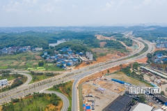 北进路南段已大致建成 柳州北大门通行将更便捷