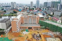 柳州滨江中学加紧建设 预计年内落成使用