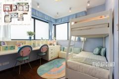 彰泰江与城建面123㎡四房两厅两位户型儿童房,开间3.6米、进深3.2米,宽阔舒适的空间可满足两个孩子居住。