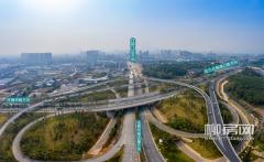 西外环路全线通车一周年 柳州西大门焕新升级!