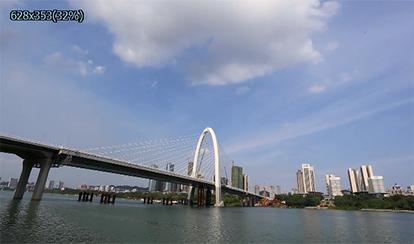 """""""柳州之门""""--白沙大桥"""